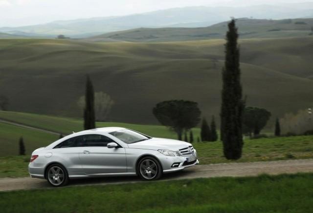 Mercedes E-Klasse Coupe, noi detalii