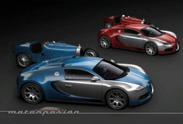 Iata noile modele Bugatti!