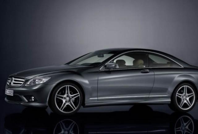 Mercedes isi sarbatoreste aniversare cu numarul 100 cu un CL500 special