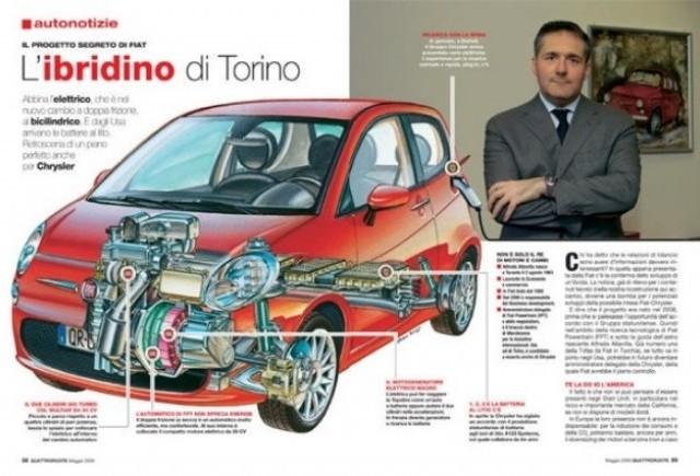 Fiat 500 hibrid