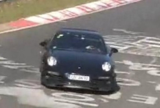 VIDEO: Viitorul Porsche 911 spionat