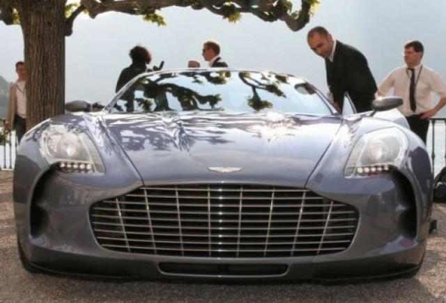 Aston Martin One-77 a castigat premiul de design in Italia