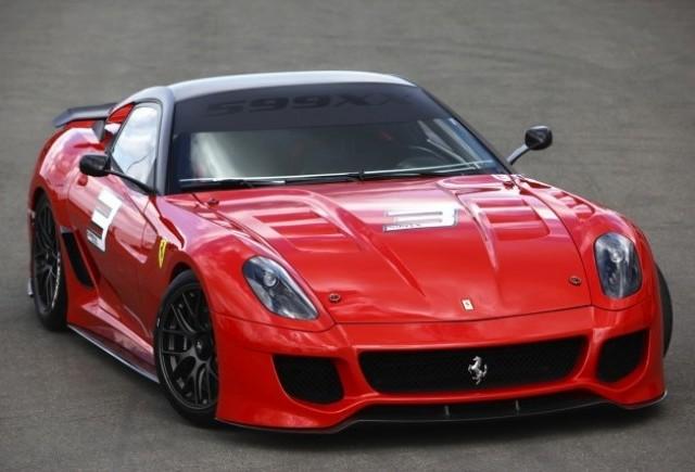 Ferrari 599XX: O bijuterie dezvaluita