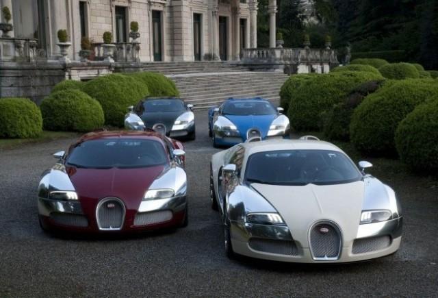 Bugatti dezveleste Veyron Centenaire Edition in Italia