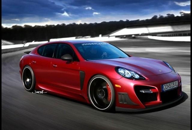 Asa va arata un Porsche Panamera tunat ?