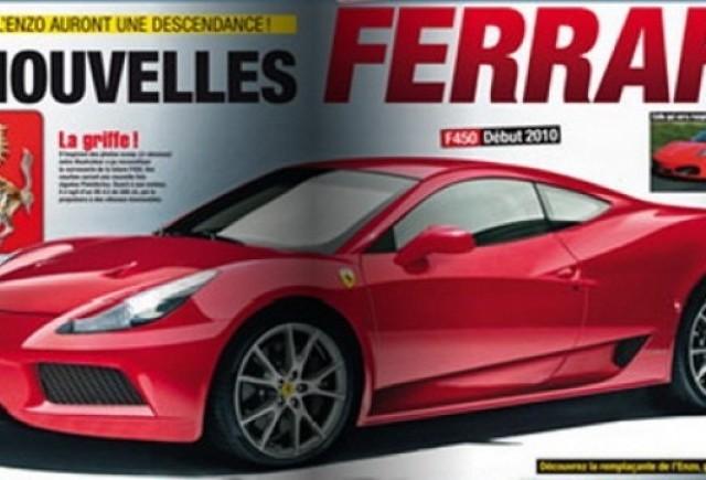 Schita noului Ferrari 450