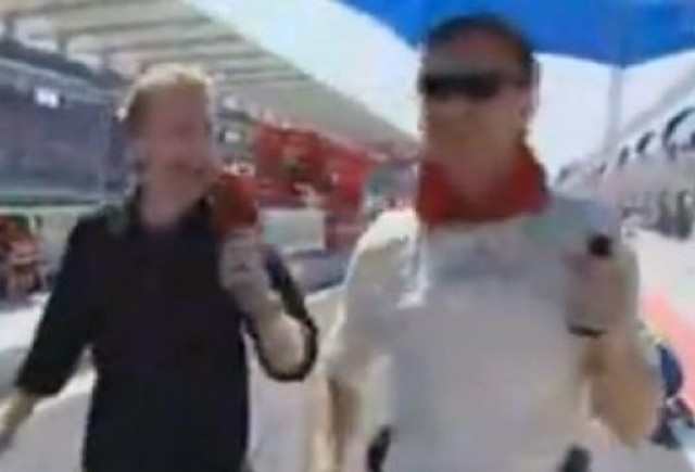 VIDEO: Interviuri funny cu David Coulthard