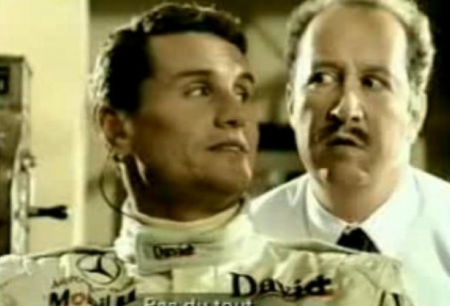 VIDEO: David Coulthard, actor in reclame