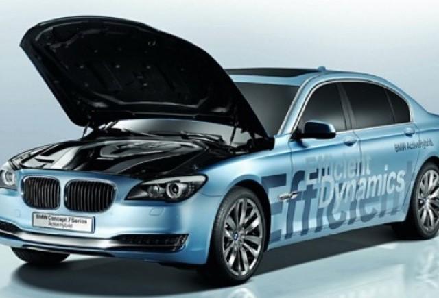 BMW va dezveli 750hi hybrid la Frankfurt