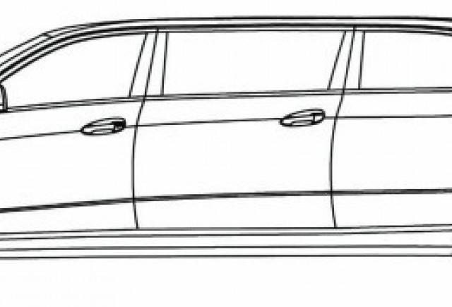 Schite cu o limuzina bazata pe E-Class