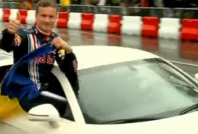 VIDEO: David Coulthard pe pista de la Mamaia