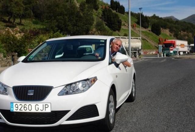 Un nou record: Ibiza ECOMOTIVE a reusit un consum mediu de 2,9 litri la suta