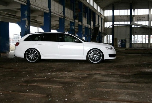 AVUS Performance prezinta Audi RS6 WHITE POWER