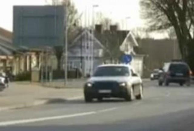 VIDEO: Saab 9-5, spionat in teste