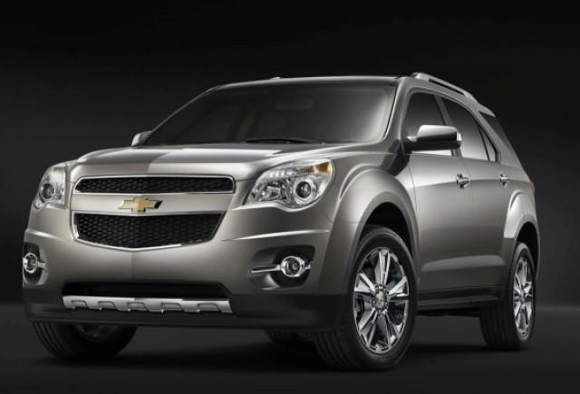 Chevrolet Equinox va avea un consum de 8,8 litri la suta