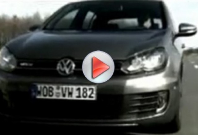 Video cu noul Golf VI GTD