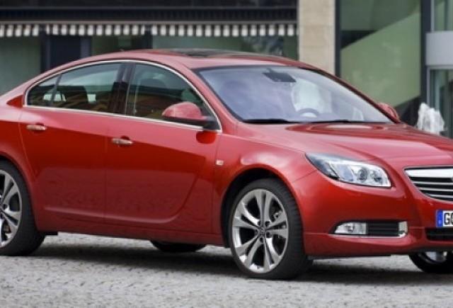 Opel Insignia e pe primul loc in Europa