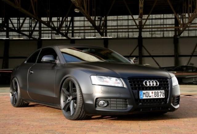 AVUS Performance Audi A5 Coupe Matte Black cu 275 CP