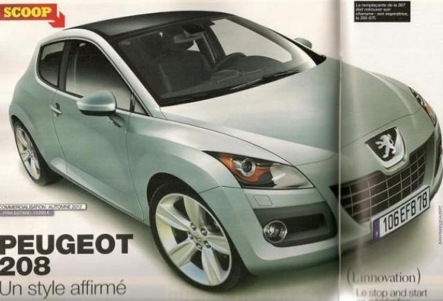Asa va arata Peugeot 208 ?
