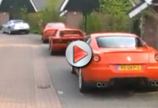 Video: Un paradis Ferrari gasit in Olanda