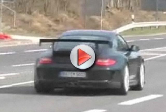 Video: Porsche 911 GT3 RS spionat pe circuit