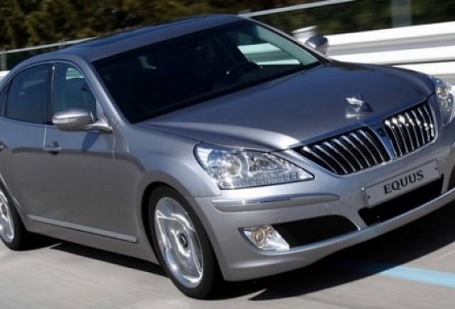 Hyundai va livra 100 de modele Equus catre reprezentantele din SUA
