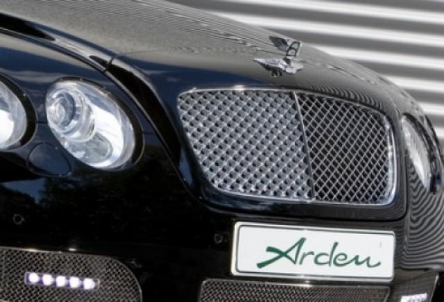 Ornament de capota Bentley realizat de Arden