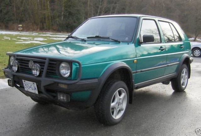 Un Golf off-road gasit pe eBay