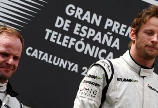Button a castigat cursa de la Barcelona