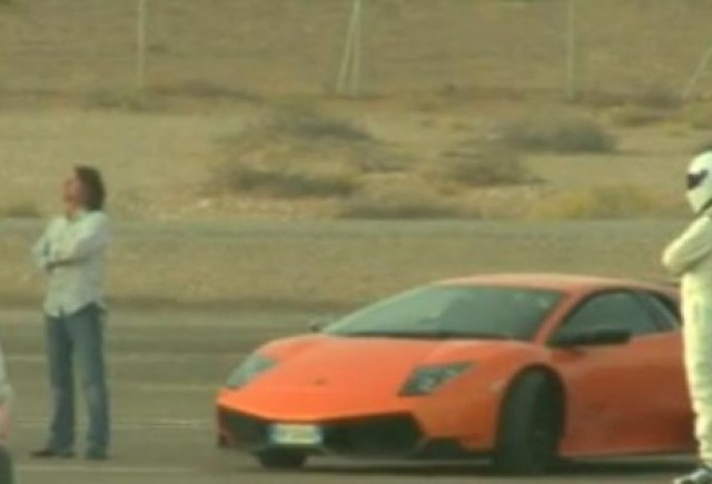 VIDEO: Top Gear, spionati la filmari