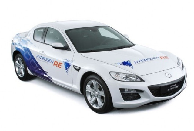 Mazda lanseaza in Norvegia primul RX-8 pe hidrogen