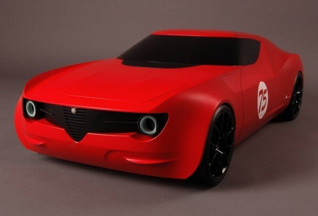 Conceptul Alfa Romeo Berlina Da Corsa
