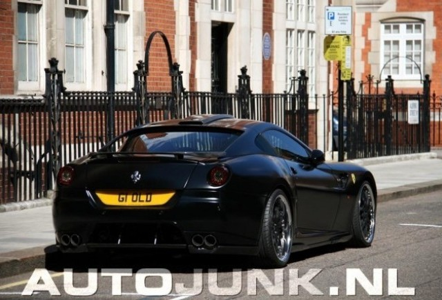 Ferrari 599 GTB realizat de Hamann