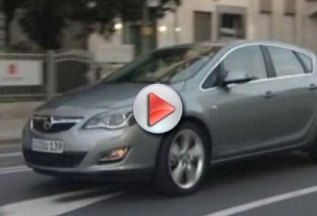 Video cu noul Opel Astra