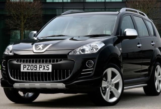 Peugeot a lansat o editie speciala a lui 4007