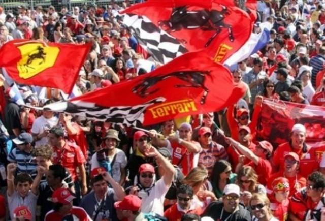 Boss-ul Ferrari le multumeste fanilor echipei de F1