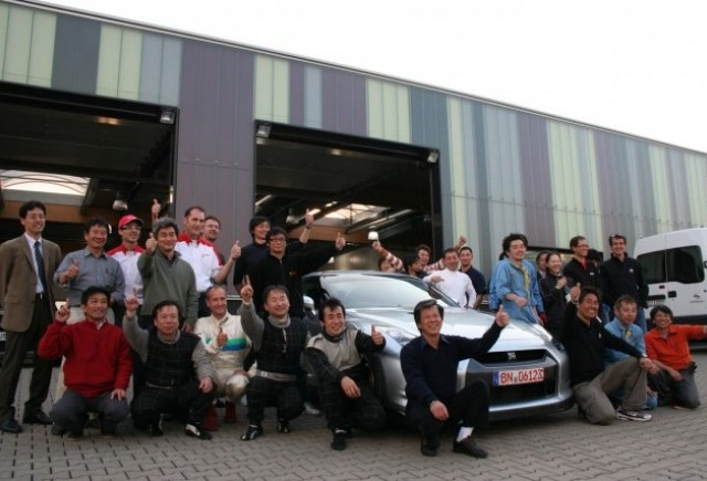 Nissan GT-R a doborat recordul de la Nurburgring