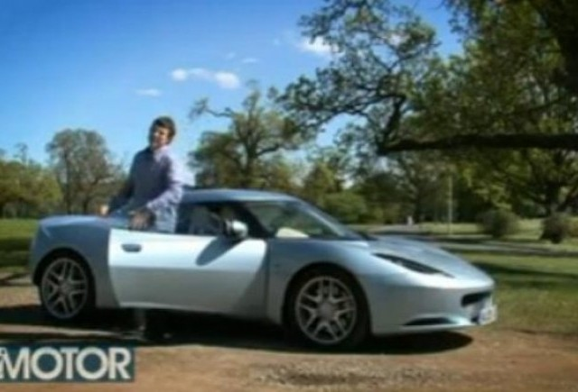 VIDEO: Primul test cu Lotus Evora