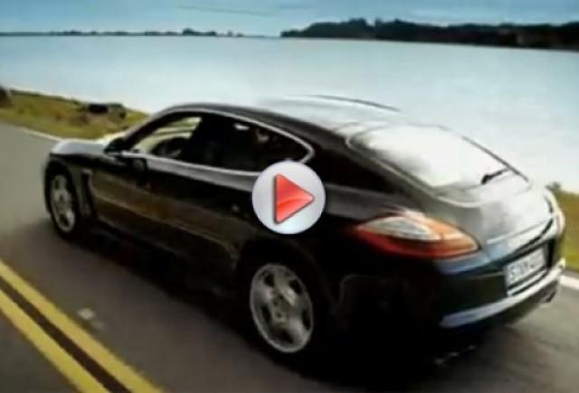 Un nou video promotional pentru Porsche Panamera