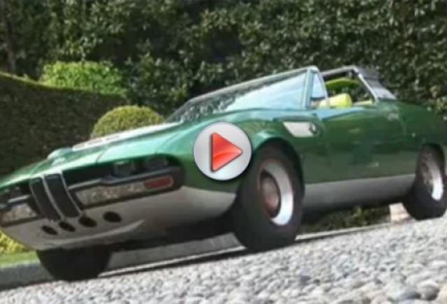 Video: Turul roadsterelor BMW la Concorso dEleganza