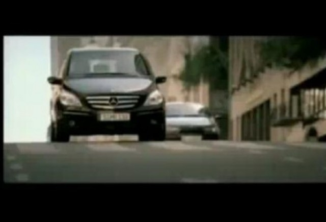 VIDEO: Reclama la Mercedes B-Klasse