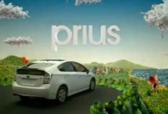 VIDEO: Cum isi promoveaza Toyota noul Prius?