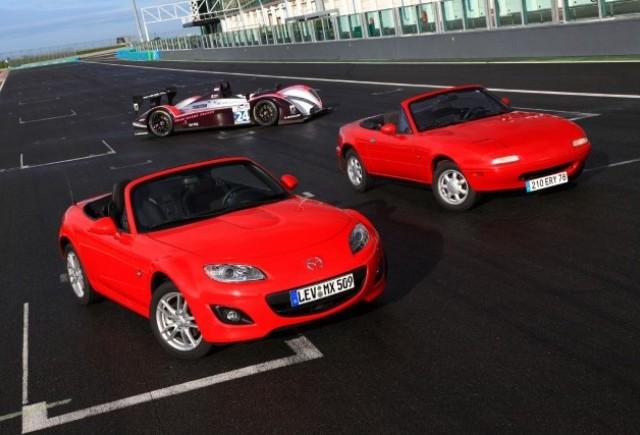 Mazda MX-5 aniverseaza 20 de ani la Le Mans
