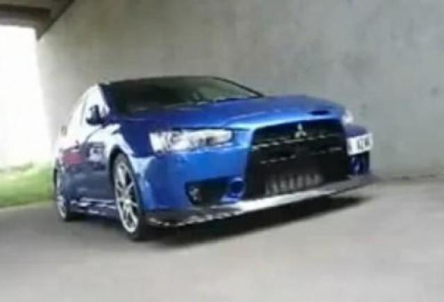 VIDEO: Cel mai puternic Mitsubishi EVO X