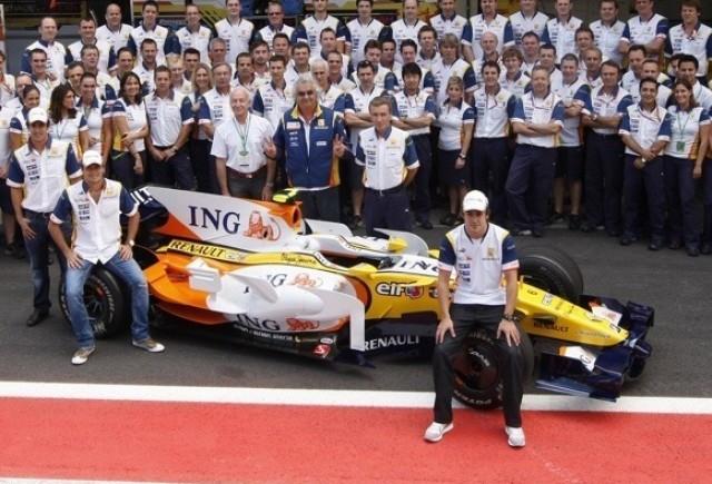 Briatore ar putea cumpara Renault