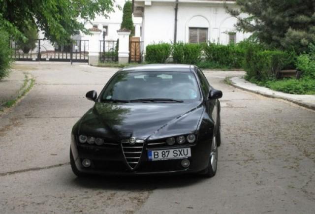 Am testat Alfa Romeo 159!