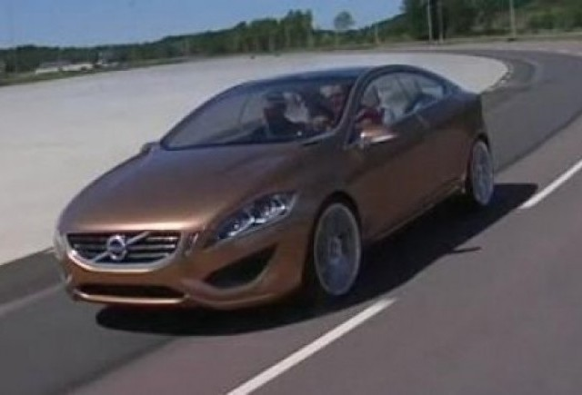 VIDEO: Primul test cu viitorul Volvo S60