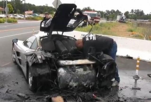 VIDEO: Un McLaren F1, ars de viu
