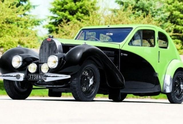 Masina lui Ettore Bugatti ar putea deveni cea mai scumpa din istorie