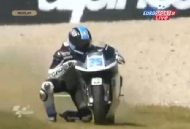 VIDEO: Faza zilei pe motocicleta